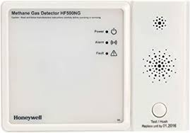 Natural Gas Alarm <b>HF500</b> Mains Powered with Relay output ...
