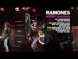 <b>RAMONES</b> – '<b>ROCKET TO</b> RUSSIA 40TH ANNIVERSARY ...