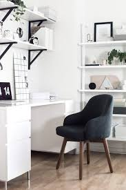 white home office west elm amy kim39s black and white home office bmw z3 office chair seat converted