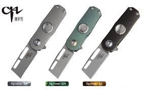 <b>CH Knives Spinner</b> S35VN blade material Gyro Model Spinning Mini ...