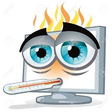 Image result for overheating computer