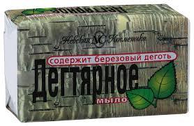 Косметическое <b>мыло Невская Косметика</b> Дегтярное 140 г ...
