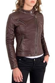 <b>Кожаная куртка AD MILANO</b> арт 0017_DARK_BROWN DARK ...