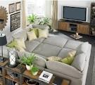 Интерьеры с серыми диванами