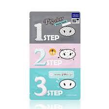 <b>HOLIKA HOLIKA Pig Clear Black</b> Head 3-Step Kit | YesStyle
