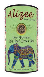 <b>Чай</b> зеленый листовой <b>Alizee</b> Gun Powder Big Leaf <b>Green Tea</b> ...