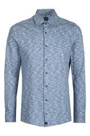 Белая <b>рубашка</b> с воротником-стойкой <b>Strellson</b> – купить в ...