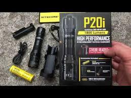 <b>Nitecore P20i</b> Tactical Flashlight - 1800 lumens - <b>Nitecore</b> Italia ...