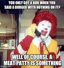 Image result for nothing burger memes