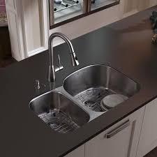 undermount kitchen sink stainless steel: undermount stainless steel kitchen sink with faucet  grids  strainers amp dispenser