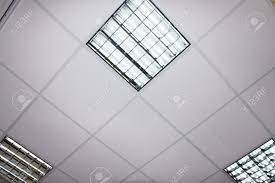 ceiling panel fluorescent lamp on the modern ceiling stock photo ceiling lights for office