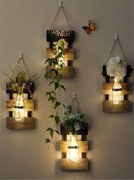 Buy 1Pc Creative Glass Vase/<b>Decorative</b> Light <b>Pastoral</b> Style ...