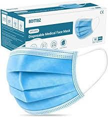 BDTTBZ Face <b>Masks Medical</b> Grade BFE≥95% <b>50pcs</b>, F+D