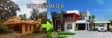 house before and after pictures   Kerala house renovation   Before    house before and after pictures   Kerala house renovation   Before and After   Indian House Plans   New home   Pinterest   House Renovations  Indian House