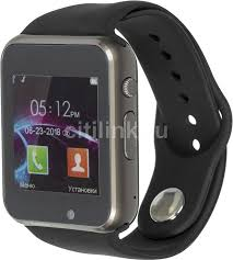 """Купить Смарт-<b>часы JET Phone SP1</b>, 48мм, 1.54"""", серый в ..."""