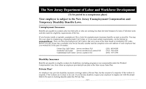 new jersey unemployment compensation and temporary