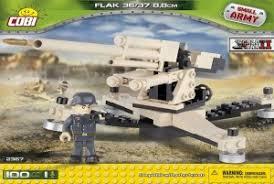 Пластиковый <b>конструктор COBI</b> «Зенитка <b>Flak</b> 36-37 88mm» с ...