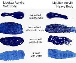 liquitex heavy body is buttery but much thicker than the soft body as you can acryclic painting soft