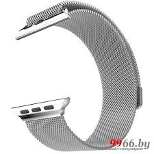 Аксессуар Ремешок APPLE Watch 42mm Activ Silver <b>Metal Mesh</b> ...