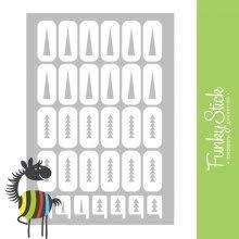 <b>Трафареты дизайна</b> для ногтей купить в интернет-магазине ...