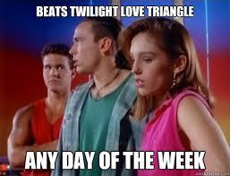 Bizzare Power Ranger Love Triangle memes | quickmeme via Relatably.com