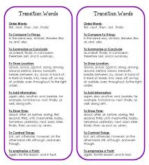 ideas about Transition Words on Pinterest   Anchor Charts     Essay