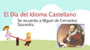 Image result for dia del idioma español