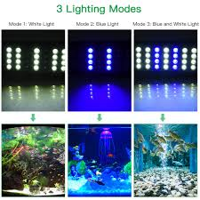 LEMONBEST Super bright 24 LEDs <b>Aquarium</b> Lamp <b>Fish Tank</b> ...