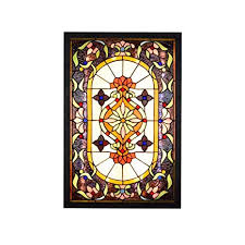 Tiffany Style <b>Wall Light Sconces</b>,Baroque Stained Glass <b>LED</b> ...
