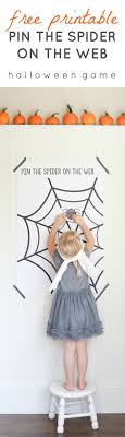 best ideas about halloween stories for kids printable pin the spider on the web game perfect for halloween parties