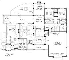 Video Tour of the Birchwood Plan     HousePlansBlog DonGardner comFirst Floor Plan of The Birchwood   House Design