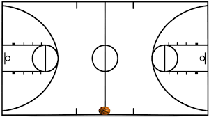 basketball half court diagrams printable   clipart best    court pages  diagram of soccer field