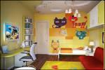 Детский интерьер для дизайна