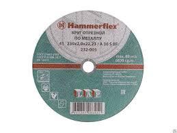 <b>Круг</b> абразивный <b>отрезной Hammer</b> Flex 232-005 (мет) 41 ...