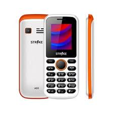 "<b>Сотовый телефон STRIKE</b> A10 1,77"", 32Мб, microSD, 2 sim, бело ..."