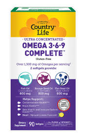 Country Life Ultra Concentrated Omega 3-6-9 Complete ... - Kroger
