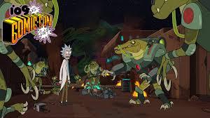Comic-Con <b>2019</b>: <b>Rick and Morty</b> Panel, Season 4 Teases, Clips