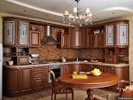 Интерьер кухни классический стиль