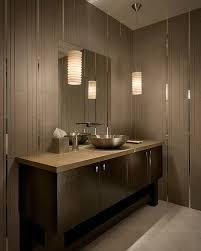 black vanity cabinet design plus contemporary bathroom pendant lighting idea feat stylish wash bowl bathroom modern lighting