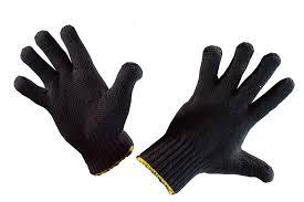 """<b>Перчатки П/шерстяные</b> 7,5 кл. Прима черные (р/ов) """"ХОЗЯИН ..."""