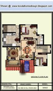 Kerala Home plan and elevation   Sq  Ft    home appliance Sq Ft  Kerala Home Ground Floor