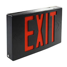 eTopLighting FD3SCR-B <b>1PCS LED</b> Exit Sign Emergency <b>Light</b> ...