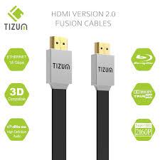 "TIZUM Fusion TZ-FUSN <b>HDMI Cable</b> ""Fusion""- HDMI <b>2.0</b> -<b>Gold</b> ..."