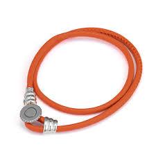 2019 <b>CKK</b> Bracelets <b>Real 925 Sterling</b> Silver Jewelry Spicy Orange ...