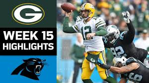 Packers vs. Panthers | NFL Week 15 Game Highlights - YouTube