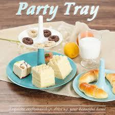 <b>Detachable Three layer</b> Fruit Cake Tray Stand Elegant Wedding ...