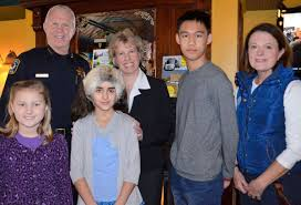 students say something about crime prevention positively naperville above students viviana didzbalis julia kapur and alan chen were recognized appreciation by npd chief bob marshall crime preventional specialist