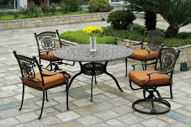 chairs patio round glass patio dining table with black chair sets decor ideas pinte