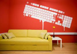 wall art designs simple design office wall art ideas white keyboard paint red background splash art for office walls