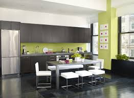 yellow walls elegant painting ideas kitchen